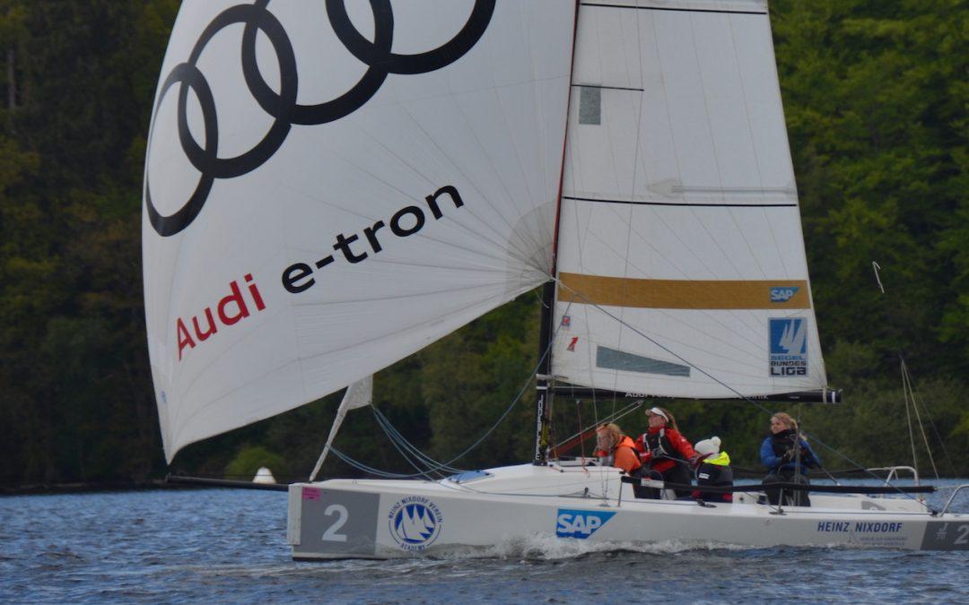 Gelungener Start für unsere J70er Seglerin beim Helga Cup